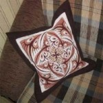 Набор для вышивания арт.Овен - 051 СР Подушка 35x35 см