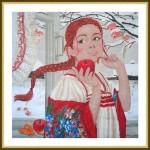 Набор для вышивания арт.ВЫШ -К-24 Первый снег