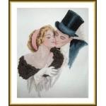 Набор для вышивания арт.ВЫШ -К-27 Поцелуй