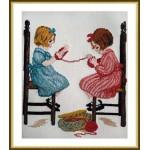 Набор для вышивания арт.ВЫШ -М-03 Мамины помощницы 23x26 см