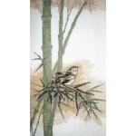 Набор для вышивания арт.ВЫШ -В-02 Птицы на Бамбуке 18,5x35 см