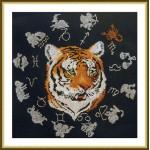 Набор для вышивания арт.ВЫШ -ВГ-01 Год тигра 27x27 см