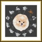 Набор для вышивания арт.ВЫШ -ВГ-05 Год собаки