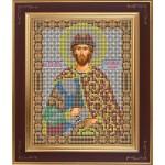 Набор для вышивания бисером GALLA COLLECTION арт. М 201 Св. Александр Невский (12х15 см)