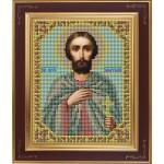 Набор для вышивания бисером GALLA COLLECTION арт. М 203 Св. Анатолий (12х15 см)