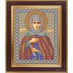Набор для вышивания бисером GALLA COLLECTION арт. М 205 Св. Анна (12х15 см)