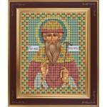 Набор для вышивания бисером GALLA COLLECTION арт. М 206 Св. Вадим (12х15 см)