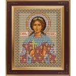 Набор для вышивания бисером GALLA COLLECTION арт. М 208 Св. Вероника (12х15 см)