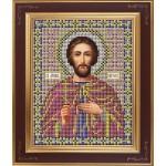 Набор для вышивания бисером GALLA COLLECTION арт. М 209 Св. Виктор (12х15 см)