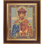 Набор для вышивания бисером GALLA COLLECTION арт. М 210 Св. Владимир (12х15 см)