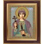 Набор для вышивания бисером GALLA COLLECTION арт. М 211 Св. Глеб (12х15 см)