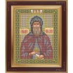 Набор для вышивания бисером GALLA COLLECTION арт. М 212 Св. Даниил Московский (12х15 см)