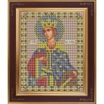 Набор для вышивания бисером GALLA COLLECTION арт. М 214 Св. Екатерина (12х15 см)