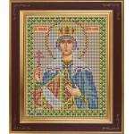 Набор для вышивания бисером GALLA COLLECTION арт. М 215 Св. Елена (12х15 см)