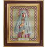 Набор для вышивания бисером GALLA COLLECTION арт. М 216 Св. Елизавета (12х15 см)