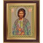 Набор для вышивания бисером GALLA COLLECTION арт. М 217 Св. Игорь (12х15 см)
