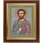 Набор для вышивания бисером GALLA COLLECTION арт. М 218 Св. Иоан Сочавский (12х15 см)