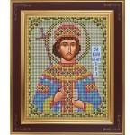 Набор для вышивания бисером GALLA COLLECTION арт. М 220 Св. Константин (12х15 см)