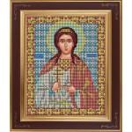Набор для вышивания бисером GALLA COLLECTION арт. М 222 Св. Любовь (12х15 см)
