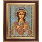 Набор для вышивания бисером GALLA COLLECTION арт. М 223 Св. Марина (12х15 см)