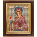 Набор для вышивания бисером GALLA COLLECTION арт. М 224 Св. Мария Магдалина (12х15 см)