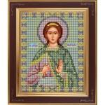 Набор для вышивания бисером GALLA COLLECTION арт. М 225 Св. Надежда (12х15 см)