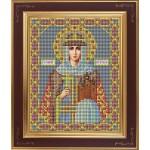 Набор для вышивания бисером GALLA COLLECTION арт. М 227 Св. Ольга (12х15 см)