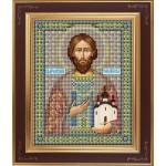 Набор для вышивания бисером GALLA COLLECTION арт. М 230 Св. Роман (12х15 см)