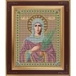Набор для вышивания бисером GALLA COLLECTION арт. М 231 Св. Татиана (12х15 см)