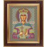 Набор для вышивания бисером GALLA COLLECTION арт. М 232 Св. Даниил Московский(12х15 см)