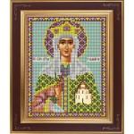 Набор для вышивания бисером GALLA COLLECTION арт. М 235 Св. Тамара(12х15 см)