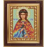 Набор для вышивания бисером GALLA COLLECTION арт. М 236 Св. Юлия(12х15 см)