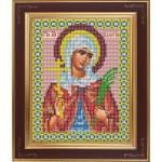 Набор для вышивания бисером GALLA COLLECTION арт. М 237 Св. Валентина(12х15 см)