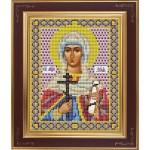 Набор для вышивания бисером GALLA COLLECTION арт. М 238 Св. Зоя(12х15 см)