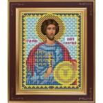 Набор для вышивания бисером GALLA COLLECTION арт. М 239 Св. Валерий(12х15 см)