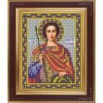 Набор для вышивания бисером GALLA COLLECTION арт. М 240 Св. Дмитрий(12х15 см)
