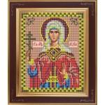 Набор для вышивания бисером GALLA COLLECTION арт. М 242 Св. Лидия(12х15 см)