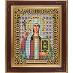 Набор для вышивания бисером GALLA COLLECTION арт. М 244 Св.Нина(12х15 см)