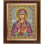 Набор для вышивания бисером GALLA COLLECTION арт. М 245 Св. Валерия(12х15 см)