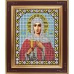 Набор для вышивания бисером GALLA COLLECTION арт. М 246 Св. Галина(12х15 см)