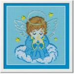Набор для вышивания бисером МП Студия арт.БК-23 СР Ангелок 12*14