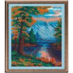 Набор для вышивания бисером МП Студия арт.БК-31 Б Горный пейзаж 23*29