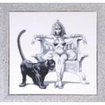 Набор для вышивания бисером Золотые Ручки арт. ГР-001 Власть и Грация 51x49 см