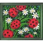 Набор для вышивания BUTTERFLY арт. 104 Солнышки 24х28см Б