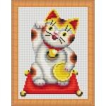 Набор для вышивания Орнамент арт. ДТ-009 Манеки-Богатство 12х16
