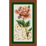 Набор для вышивания Орнамент арт. ВЦ-004 Чайная роза 10х20