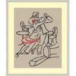 Набор для вышивания Орнамент арт. ВЛВЗ-010 Страсное танго 20х30
