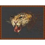 Набор для вышивания Орнамент арт. ЖП-002 Морда 40х25