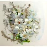 Набор для вышивания РИСУЕМ ИГЛОЙ арт. N0033. Люкс. Мгновение весны (35х35 см)
