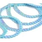 Пайетки на нитях 6мм Cream Colour арт.TBY-CC цв.0017 уп.73.12м
